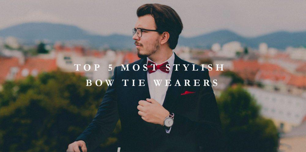 famous bow tie wearers