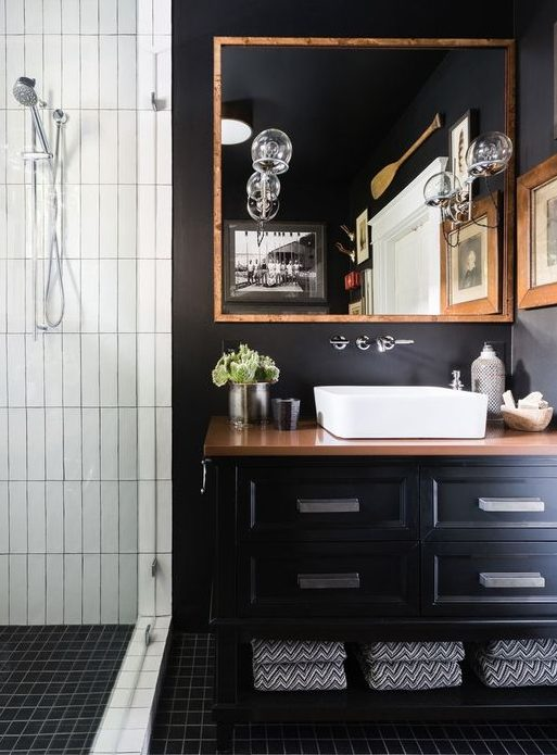 How to build the perfect bachelor pad maxwell scott bags for Bachelor bathroom ideas