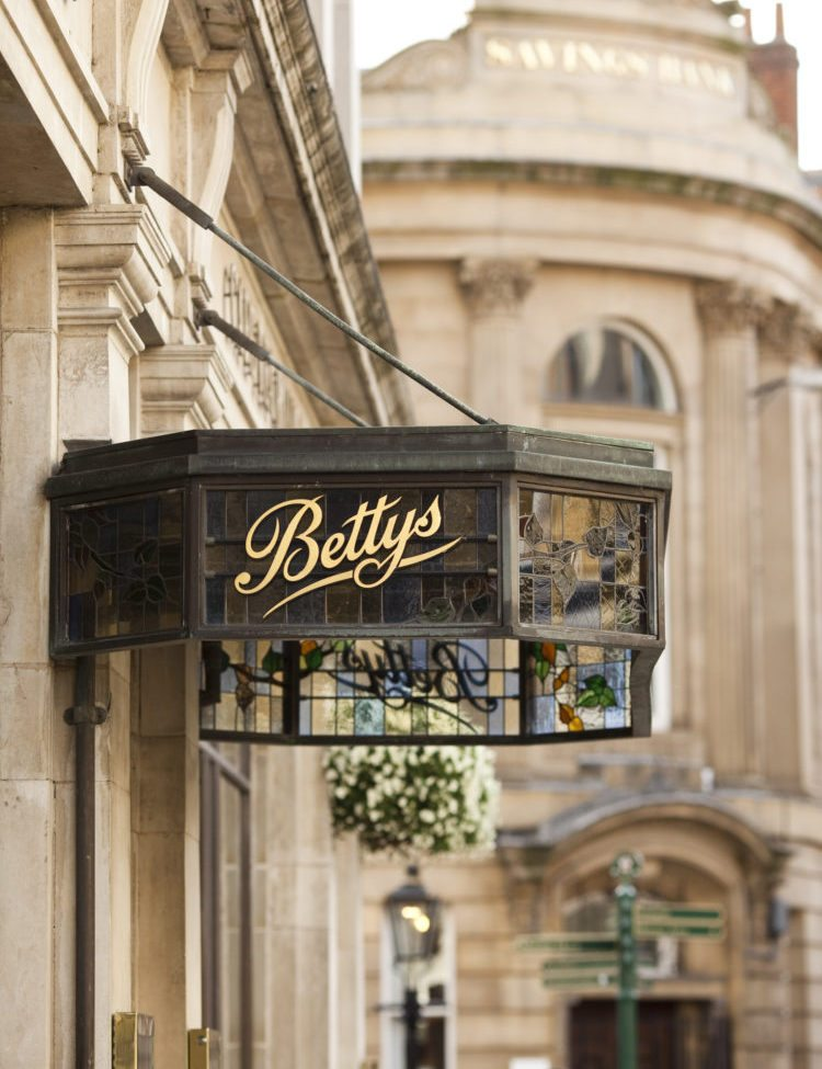 afternoon tea at bettys