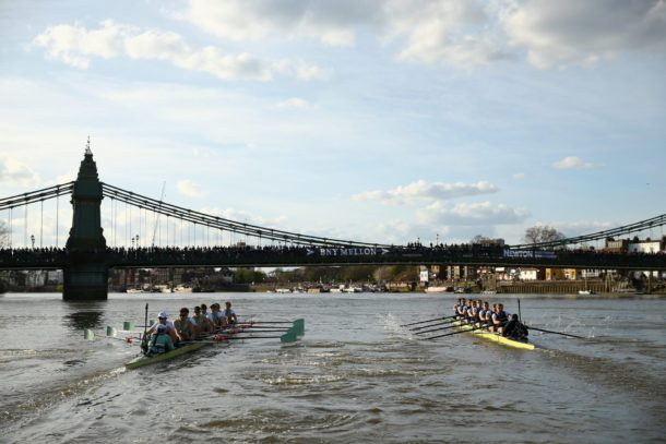ox/cambridge boat race 2018