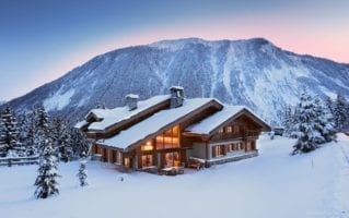 best ski chalets in the alps