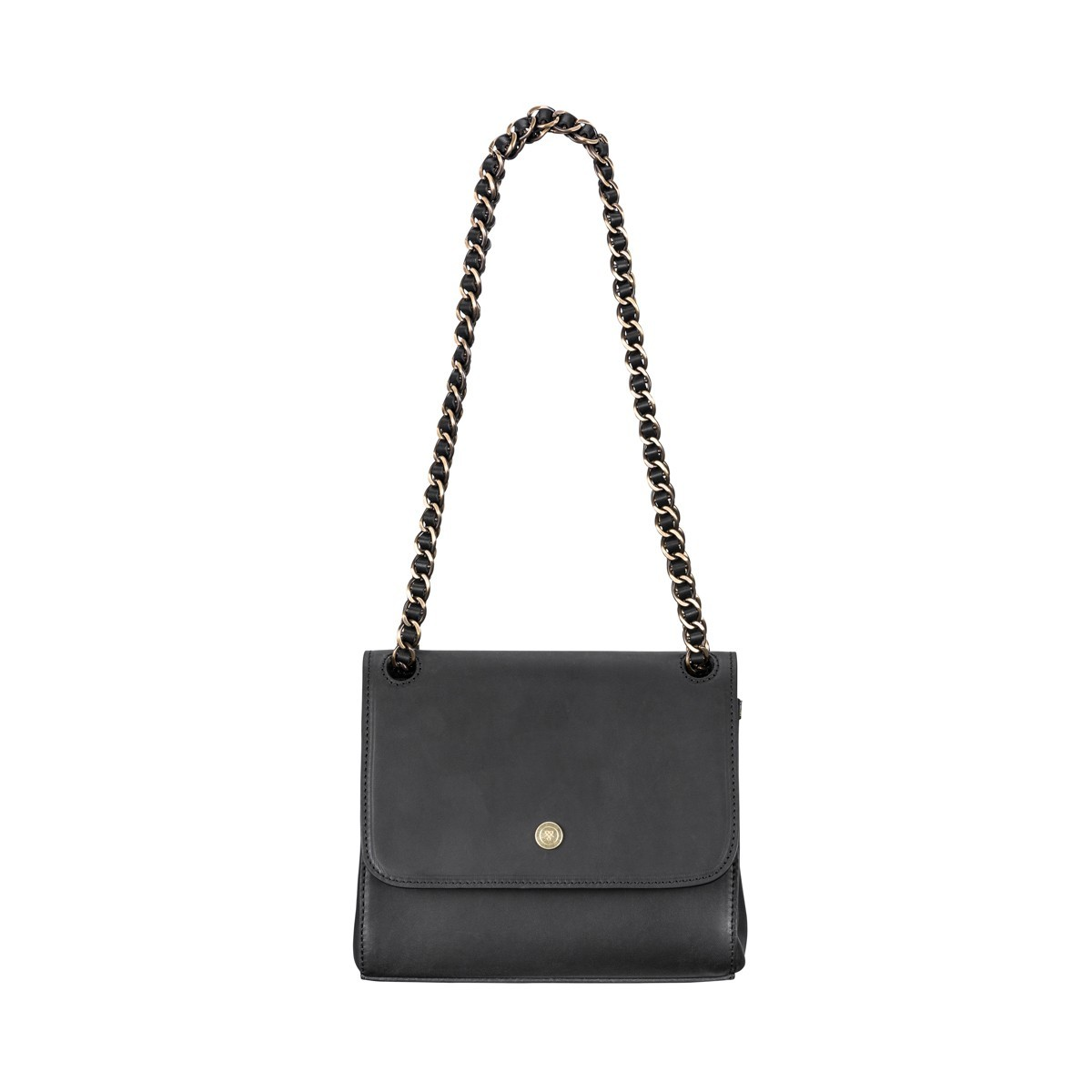 3dc565a583fa bridle leather crossbody bag with chain handle