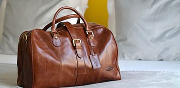 Mens Leather Travel Bags & Luggage | Tan, Brown & Black | Maxwell ...